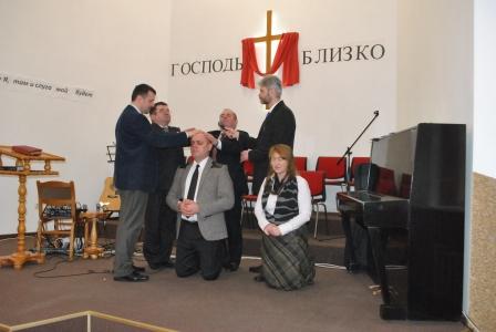 В Березовке рукоположен пастор