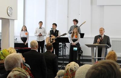 """В церкви """"Свет жизни"""" состоялось заключительное служение юбилея"""