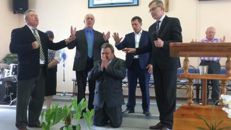 В Солигорском регионе рукоположили 5 служителей