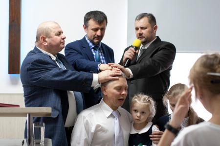В церкви «Источник жизни» г.Сморгонь рукоположен пастор