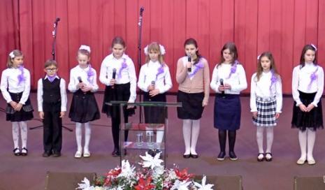 Служение, посвященное сестрам, прошло в церкви «Благодать» Минска