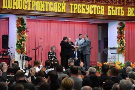 В Минске завершилась духовно-назидательная конференция служителей ОЦХВЕ. Дневник конференции