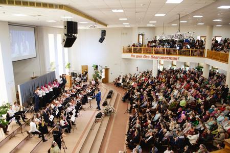 Церковь ХВЕ Бреста отметила свое 50-летие