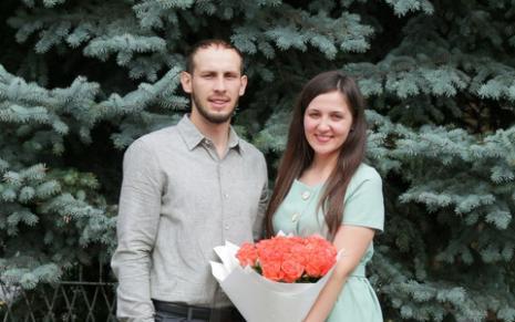 Оглашение Кота Максима и Романовской Вероники
