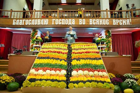 В церкви состоялся праздник Жатвы