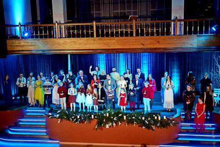 Истории в Рождество… Церковь провела серию рождественских концертов для детей