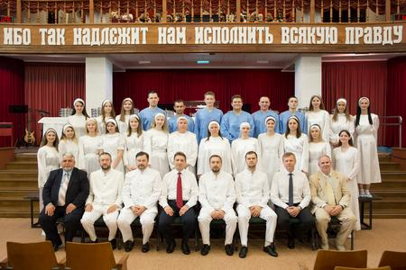 В церкви состоялось второе крещение за год