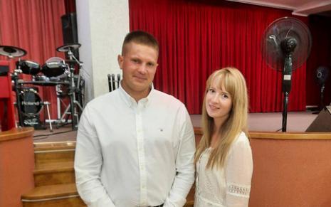Оглашение Передрия Дмитрия и Сакович Олеси
