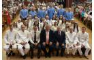 Водное крещение в церкви: 25 человек заключили завет с Богом
